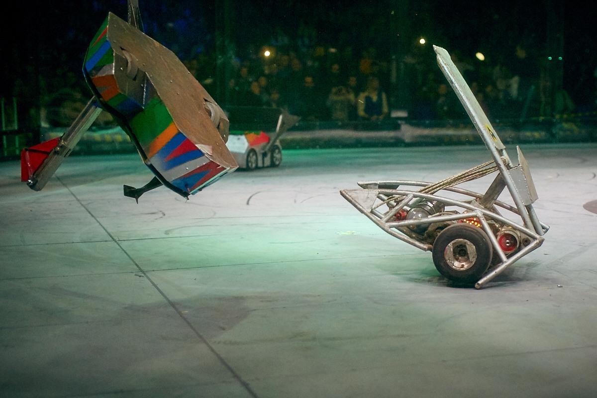 Фотоотчет с открытия боев роботов «Бронебот-2016» - 33