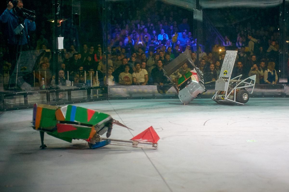 Фотоотчет с открытия боев роботов «Бронебот-2016» - 34