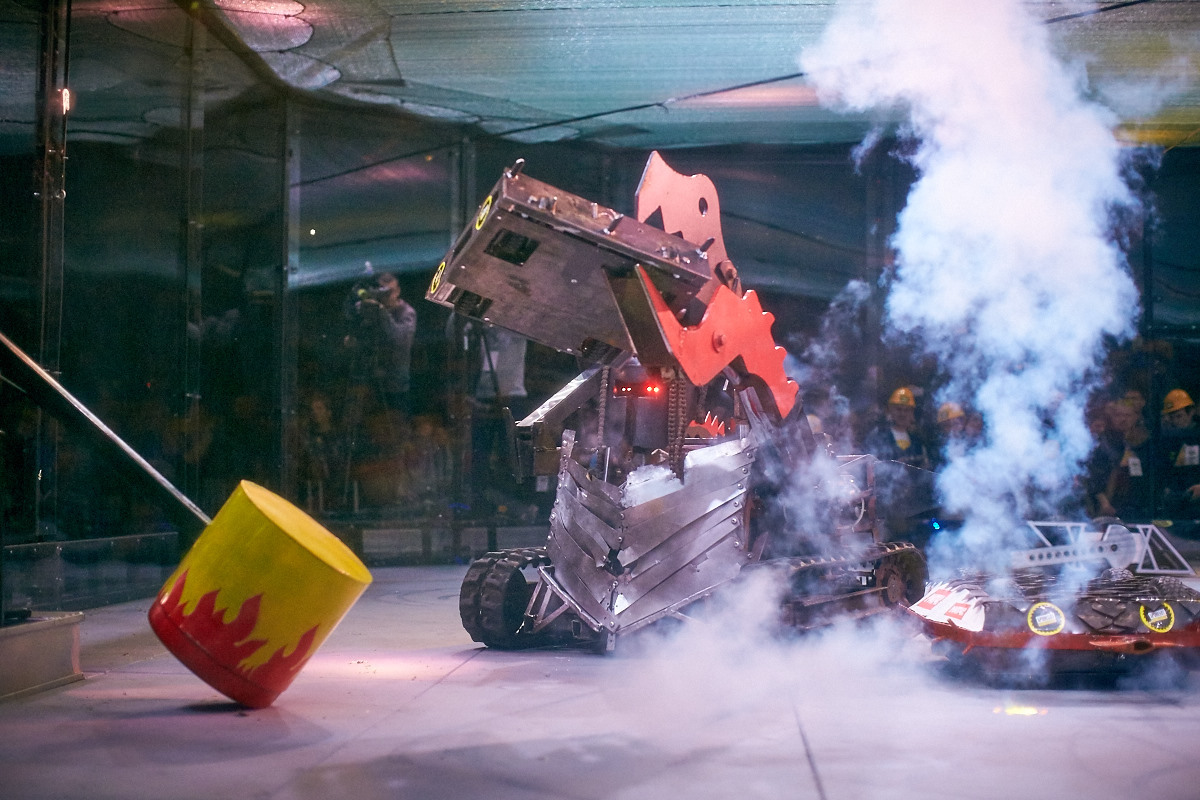 Фотоотчет с открытия боев роботов «Бронебот-2016» - 40