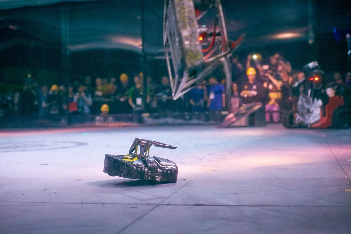 Фотоотчет с открытия боев роботов «Бронебот-2016» - 45