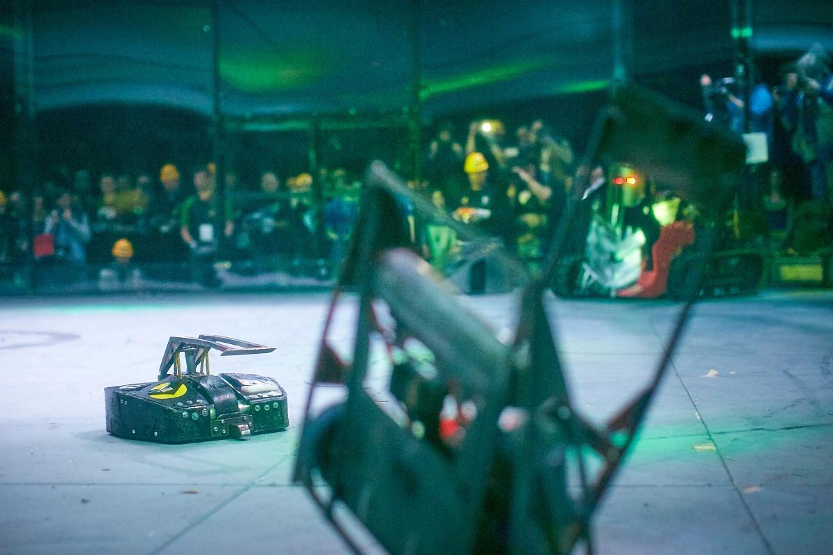 Фотоотчет с открытия боев роботов «Бронебот-2016» - 46