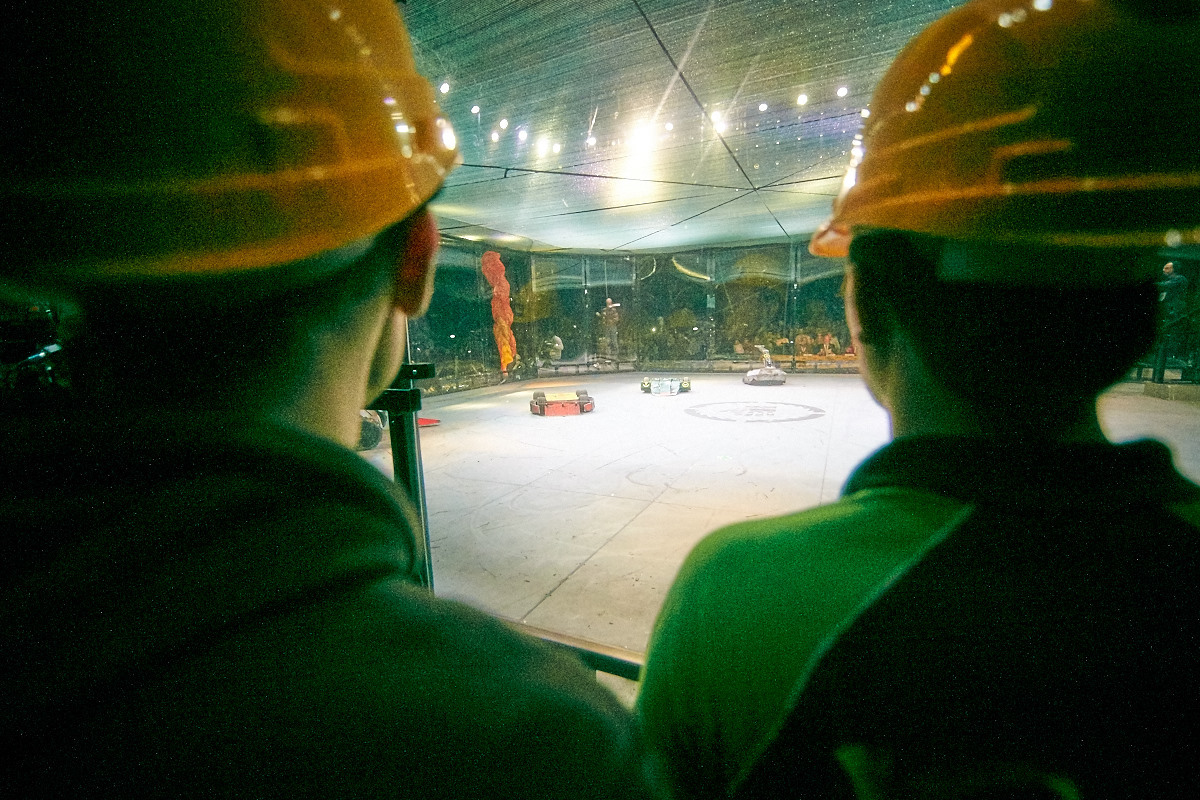 Фотоотчет с открытия боев роботов «Бронебот-2016» - 53
