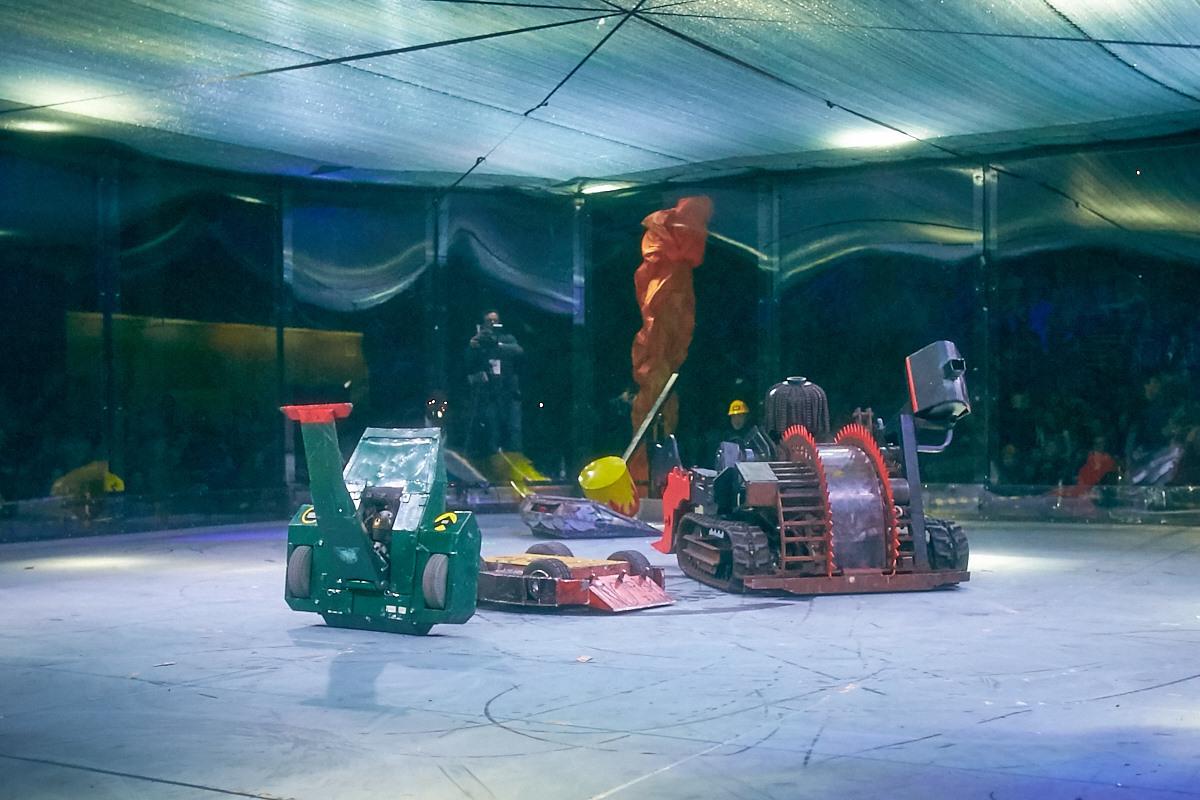 Фотоотчет с открытия боев роботов «Бронебот-2016» - 55