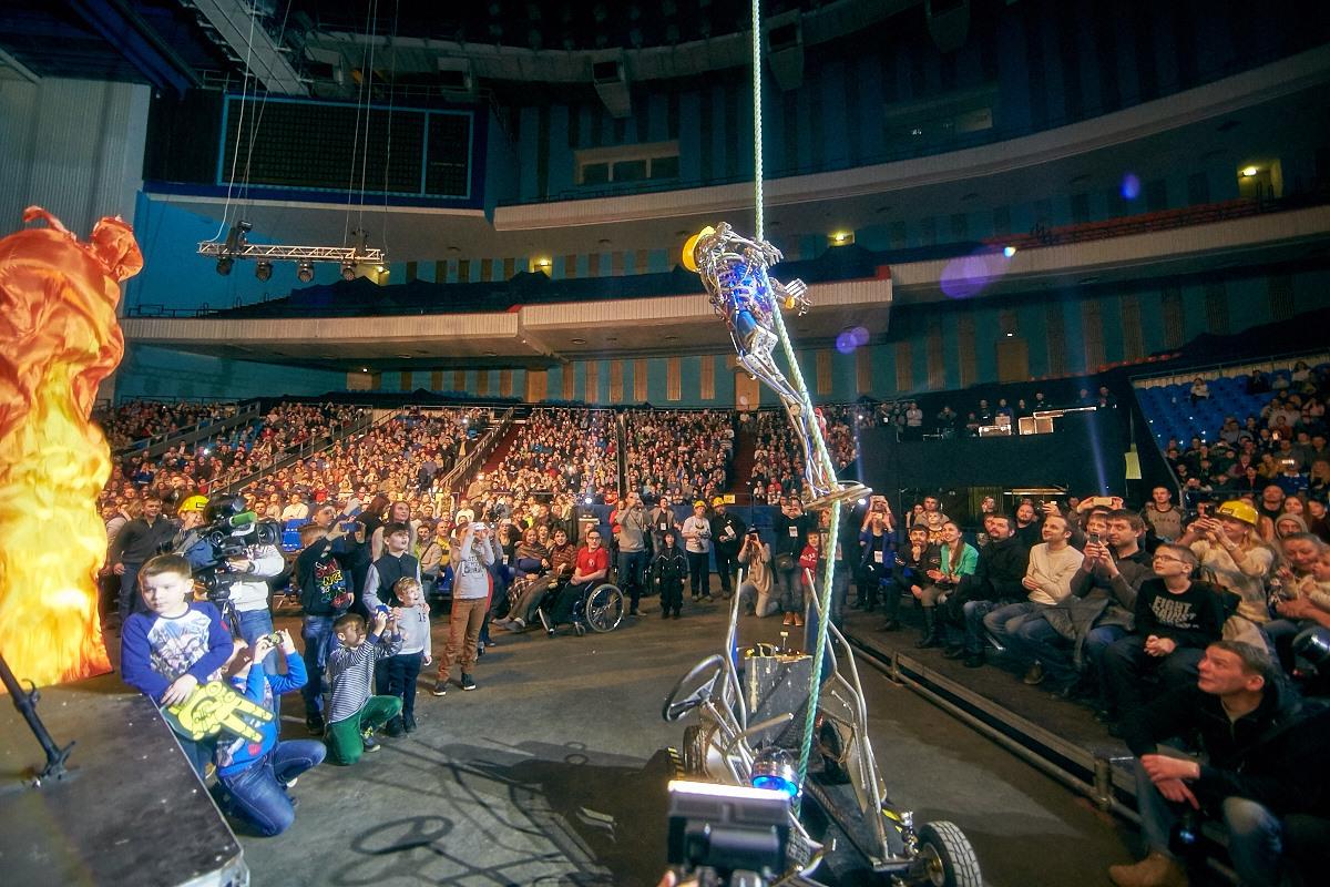 Фотоотчет с открытия боев роботов «Бронебот-2016» - 62