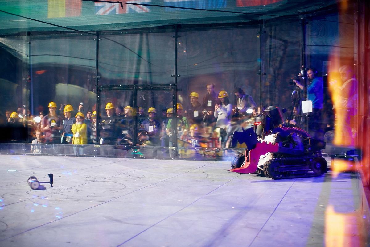 Фотоотчет с открытия боев роботов «Бронебот-2016» - 67