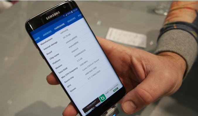 В смартфонах Samsung Galaxy S7 edge используются датчики Sony IMX260
