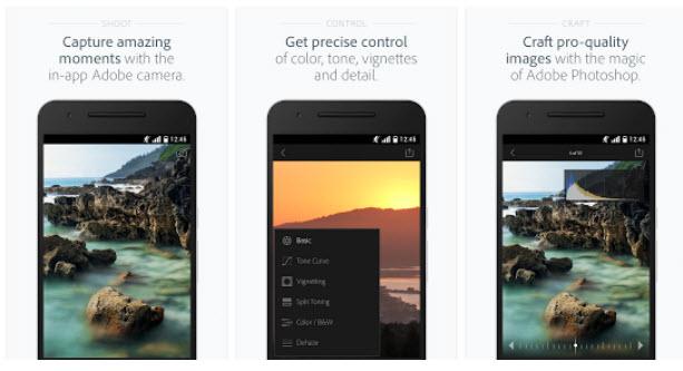 Приложение Adobe Lightroom для Android обзавелось поддержкой RAW