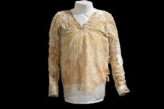 Ученые узнали возраст самого древнего платья