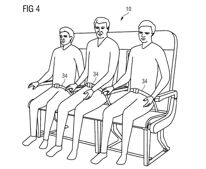 Airbus хочет усадить авиапассажиров на скамейки - 2