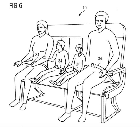 Airbus хочет усадить авиапассажиров на скамейки - 3