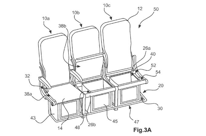 Airbus хочет усадить авиапассажиров на скамейки - 4