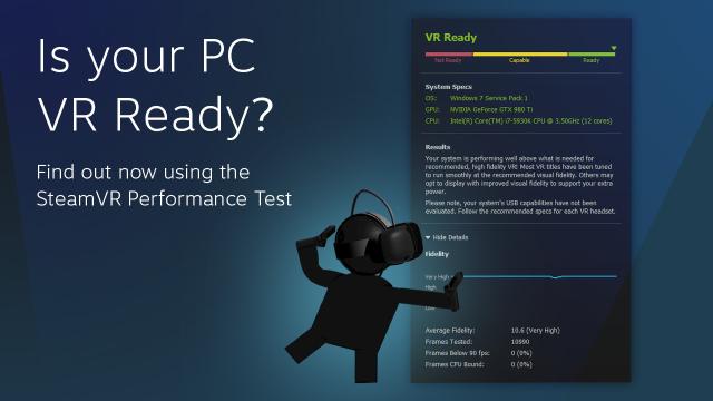 Готов ли ваш ПК к виртуальной реальности? Инструмент от Steam поможет это понять - 1