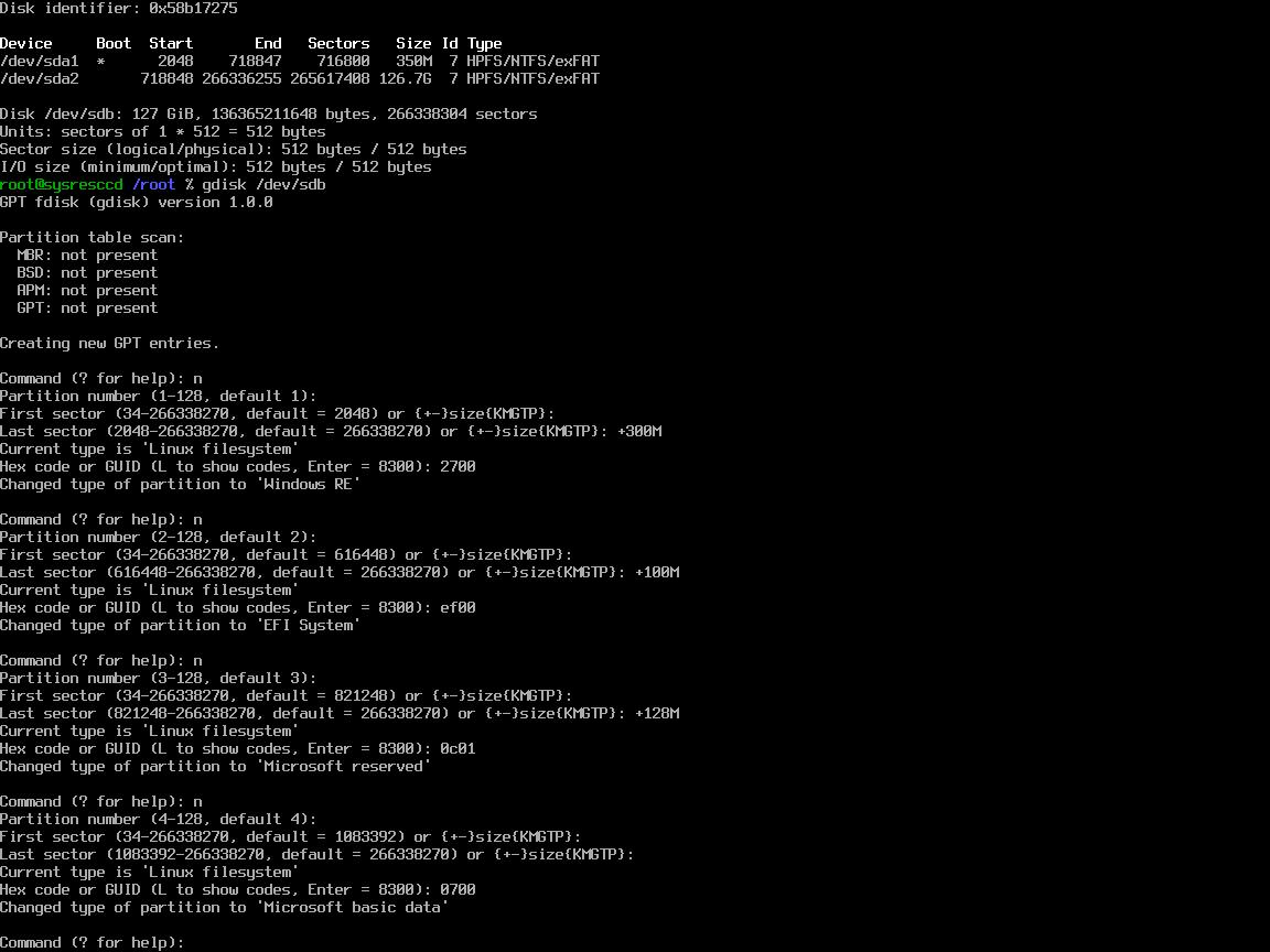 Миграция Windows между BIOS <-> UEFI - 2