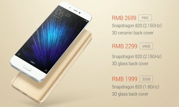 На MWC 2016 анонсирован смартфон Xiaomi Mi 5, который поступит в продажу 1 марта по цене от $305 до $410 - 5