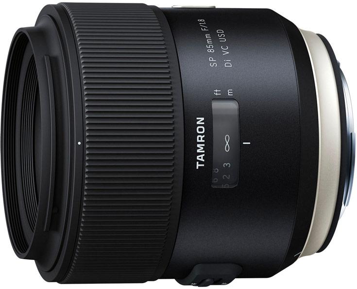 Продажи объективов Tamron SP 85mm F/1.8 Di VC USD для камер Canon и Nikon стартуют в апреле