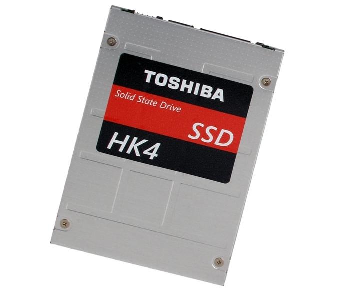 Toshiba представила SSD линеек HK4R Series и HK4E Series
