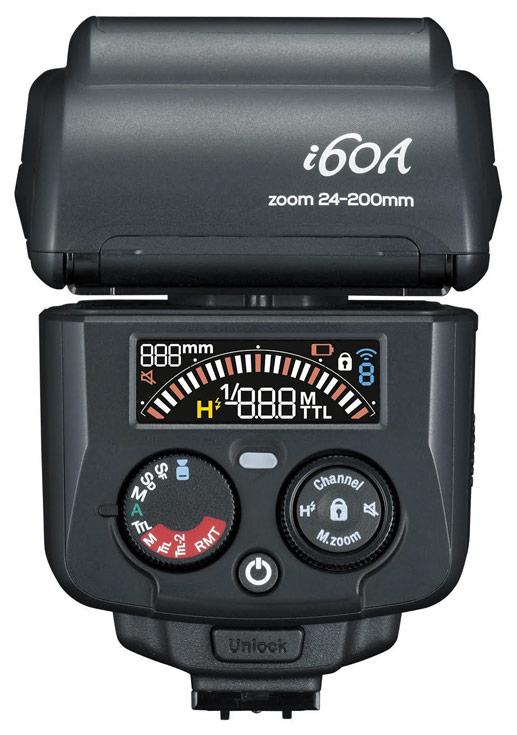 Представлена вспышка Nissin i60A с ведущим числом 60