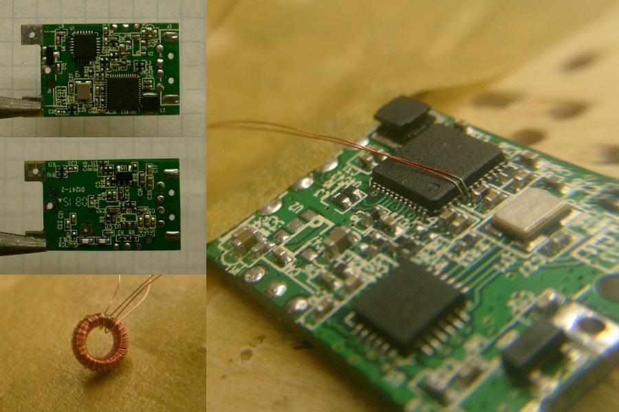 Железная модификация RTL-SDR стика, для приема КВ - 4