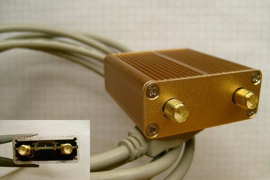 Железная модификация RTL-SDR стика, для приема КВ - 5
