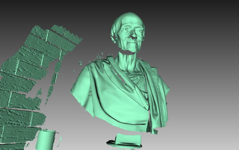 Как робот 3D сканирует - 3