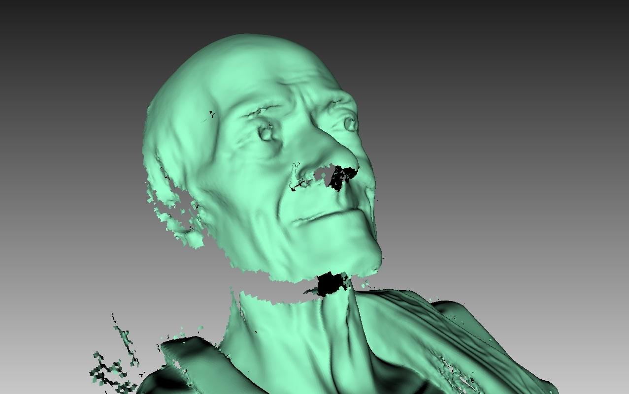 Как робот 3D сканирует - 4
