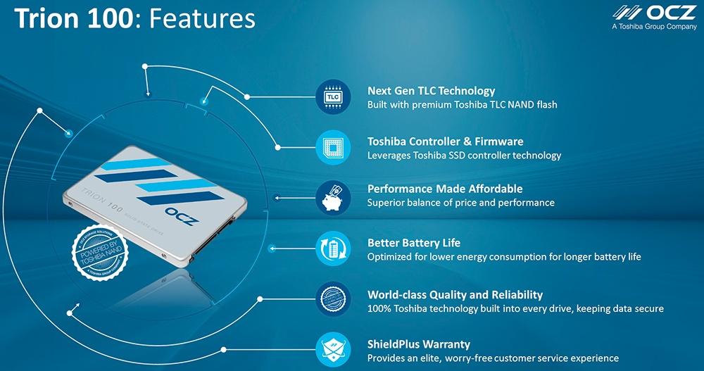 Обзор SSD-накопителя OCZ Trion 100 - 14
