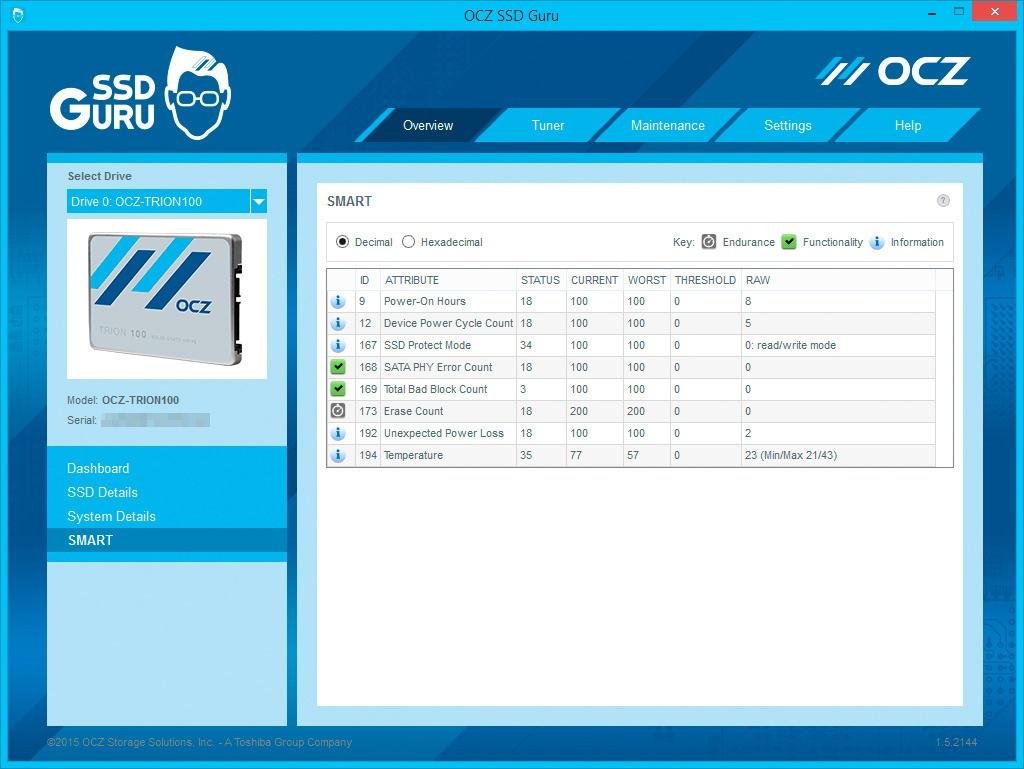 Обзор SSD-накопителя OCZ Trion 100 - 18