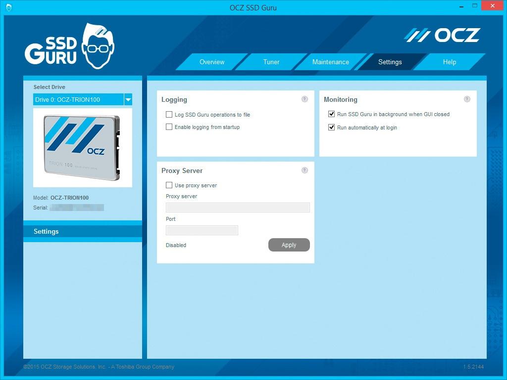 Обзор SSD-накопителя OCZ Trion 100 - 21