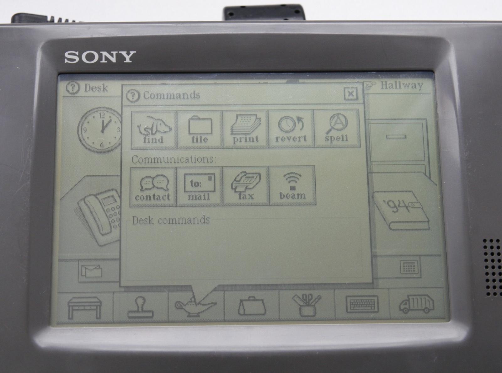 Sony Magic Link — первое устройство на ОС Magic Cap - 10
