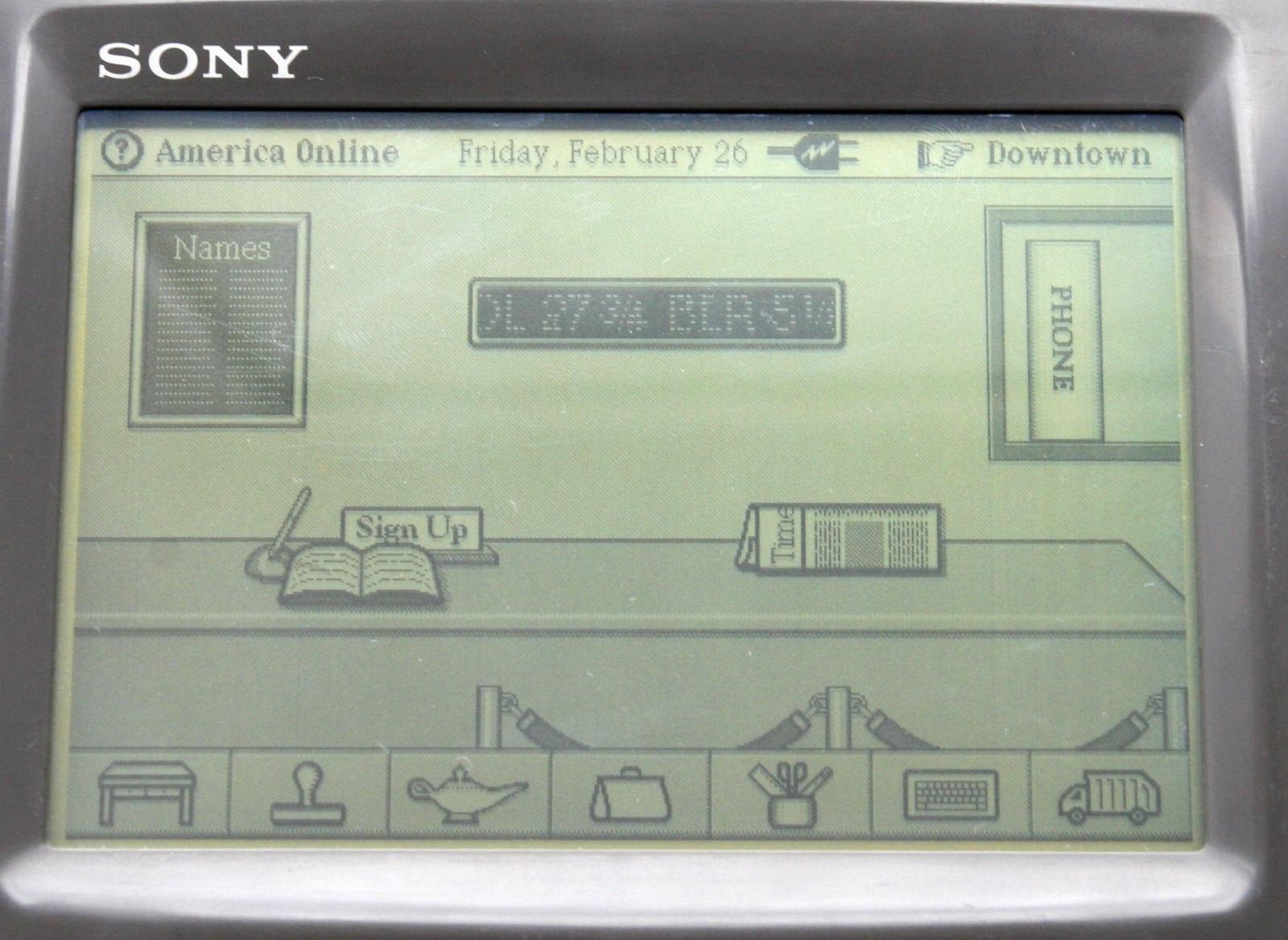 Sony Magic Link — первое устройство на ОС Magic Cap - 12