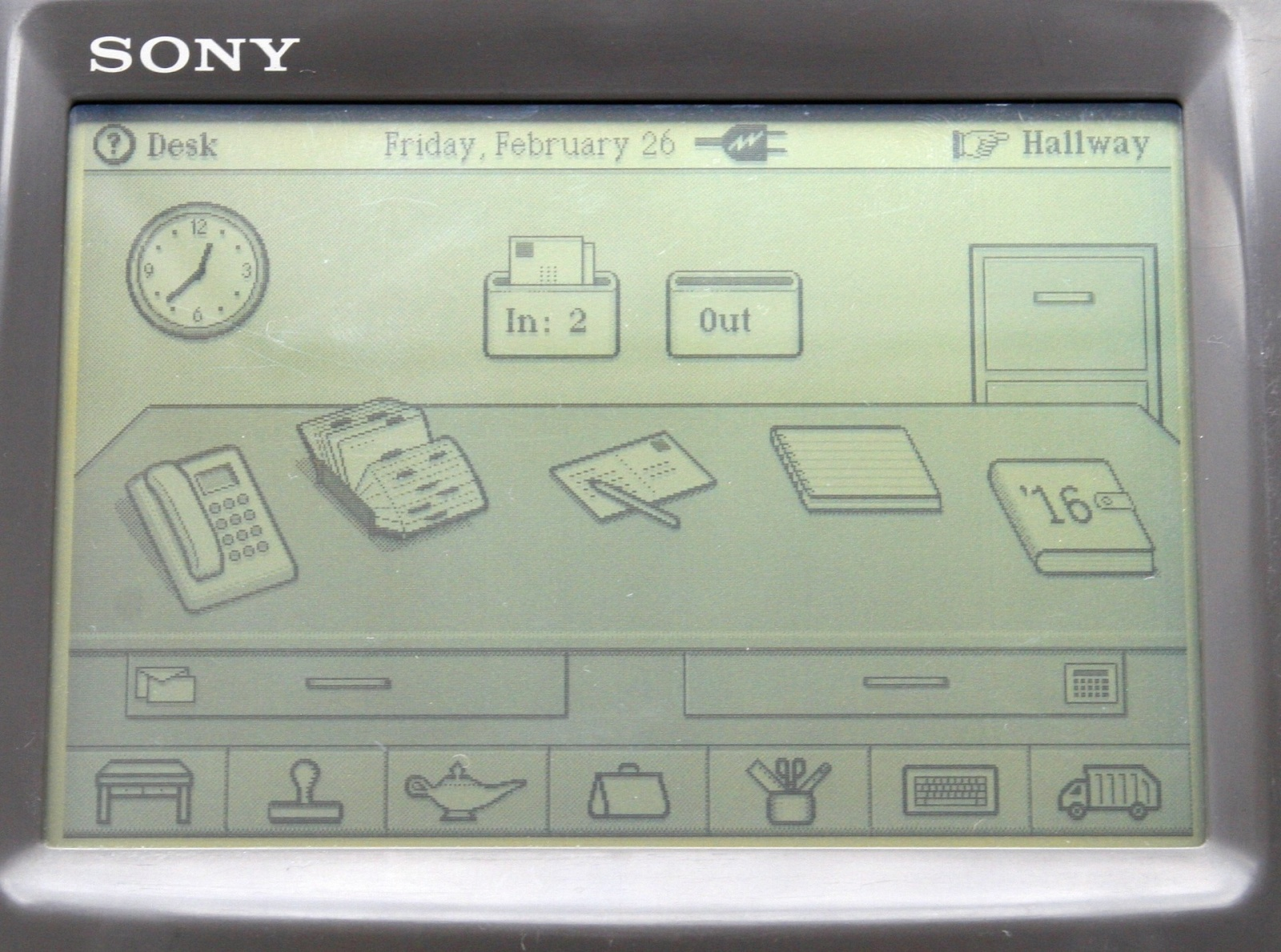 Sony Magic Link — первое устройство на ОС Magic Cap - 9