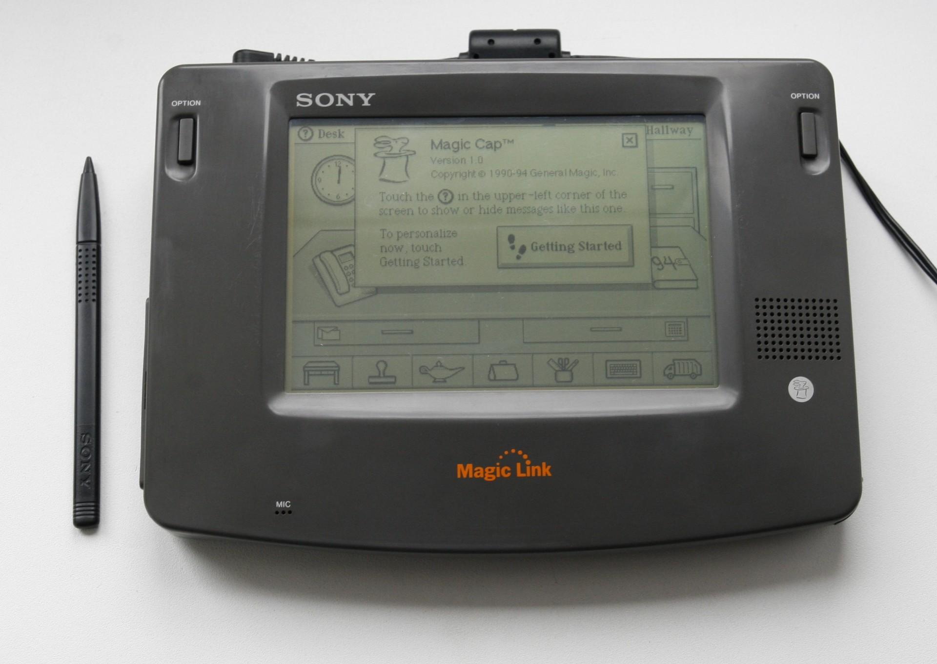Sony Magic Link — первое устройство на ОС Magic Cap - 1