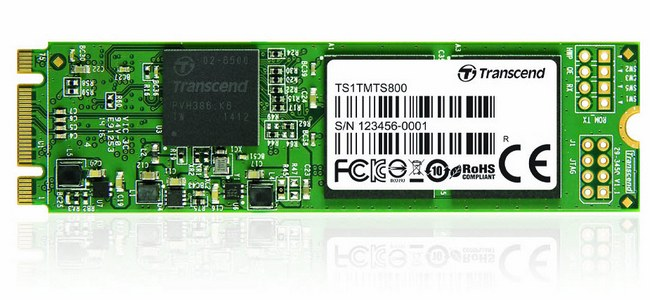 Transcend сообщила о доступности твердотельного накопителя MTS800 M.2 объемом 1 ТБ