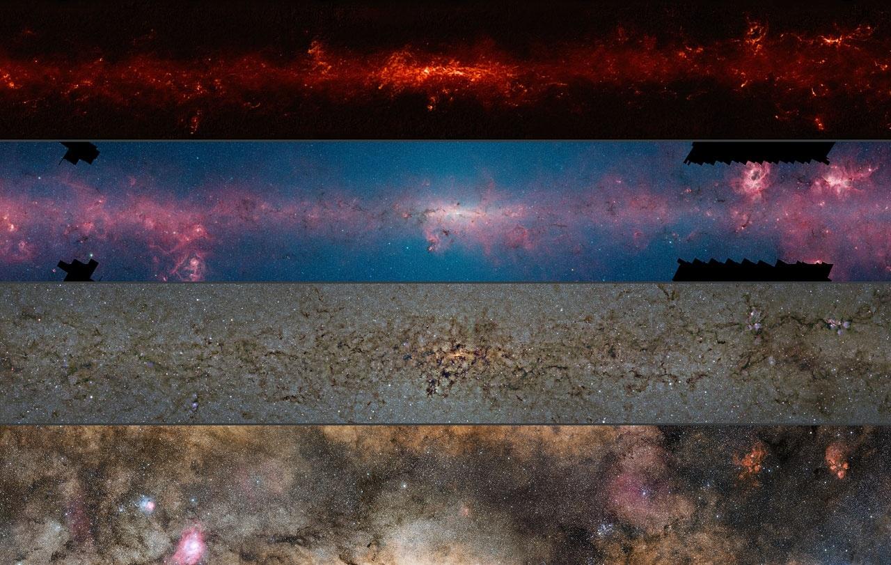 Млечный Путь изучили в субмиллиметровом диапазоне. Проект ATLASGAL завершен - 2