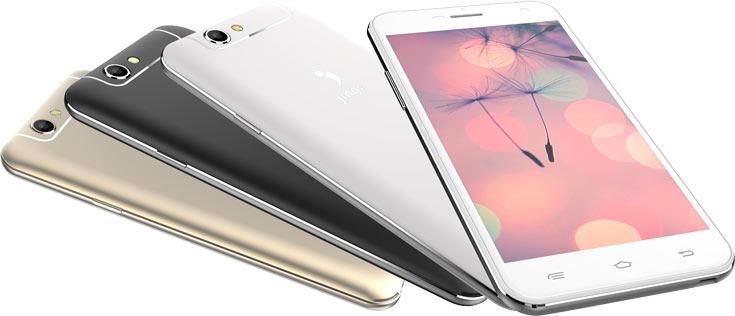 Смартфон Jinga Basco M500 3G рассчитан на две карточки SIM