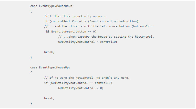 Персонализация IMGUI и редактора Unity. Часть первая - 10