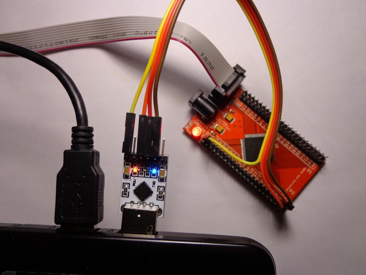 Реализация стабильного UART, со скоростью 921600 baud и более, на языке Verilog под ПЛИС - 1