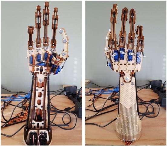 Управление роботизированной рукой с помощью камер Intel RealSense - 2