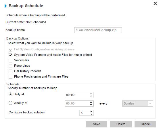 Настройка отказоустойчивости в 3CX Version 14 - 4