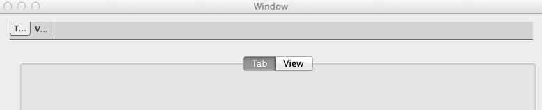 Весёлые табы в MAC OS X или история про тот самый Tab View - 3