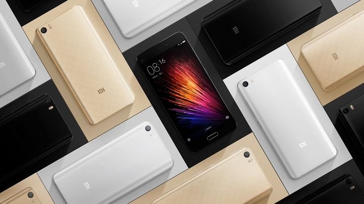 16,8 млн человек изъявили желание завтра приобрести смартфон Xiaomi Mi 5