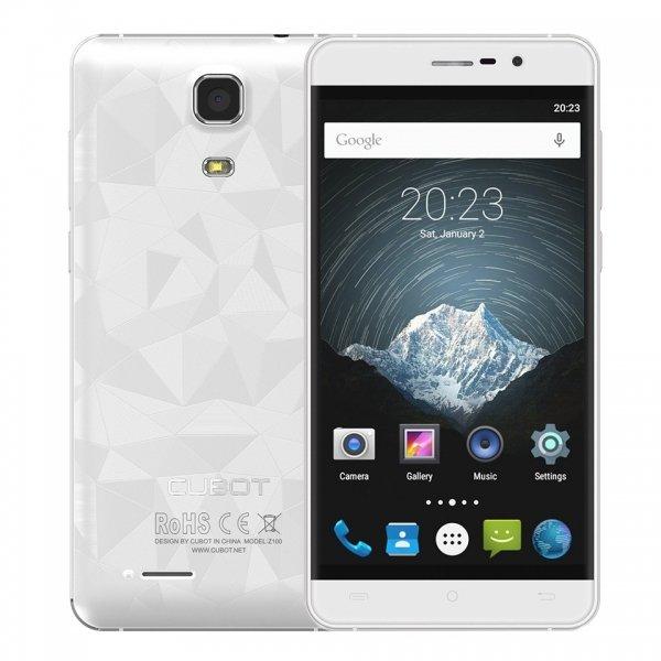 Cubot представила бюджетные смартфоны Z100, S500 и S550