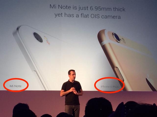 Xiaomi открыто выступает против конкурентов и сравнивает свои смартфоны с iPhone и Galaxy - 1