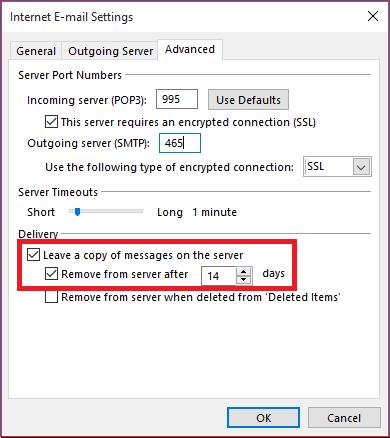 Новый баг в реализации POP3 в Outlook 2016 удаляет письма - 1
