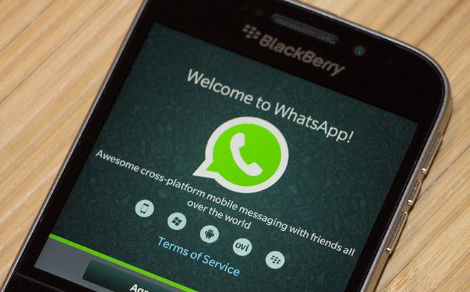 В этом году WhatsApp прекратит поддержку BlackBerry