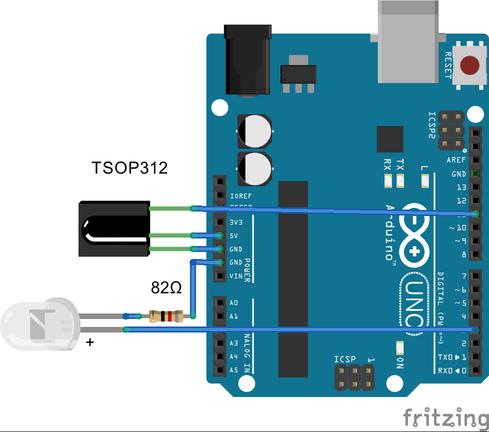 IR транскодер на Arduino - 2