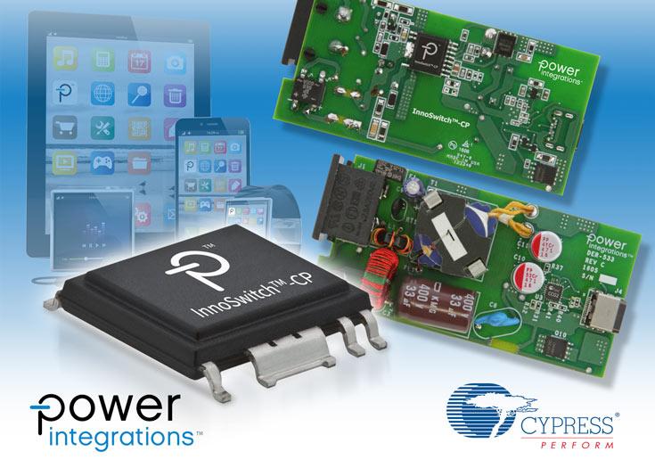 В изделии под названием DER-533 используются преобразователь InnoSwitch-CP и контроллер порта EZ-PD CCG2