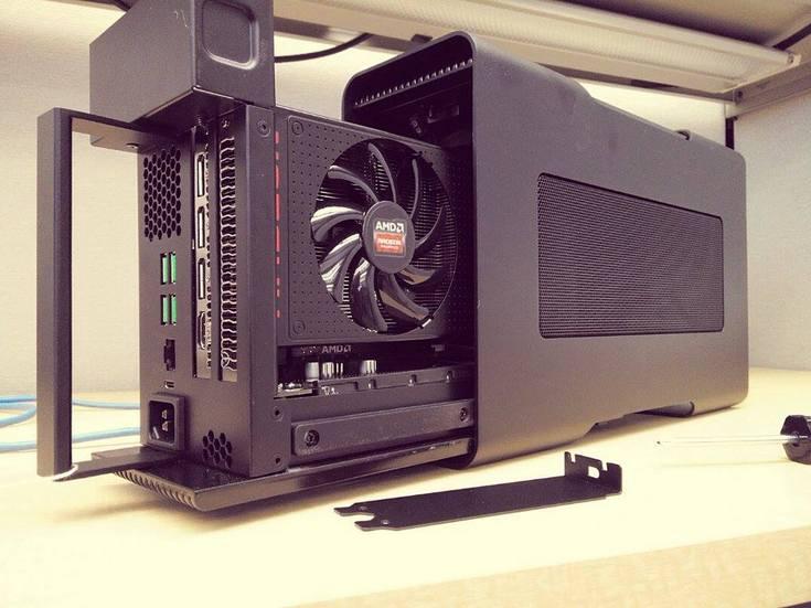 AMD разрабатывает внешние видеокарты для ноутбуков