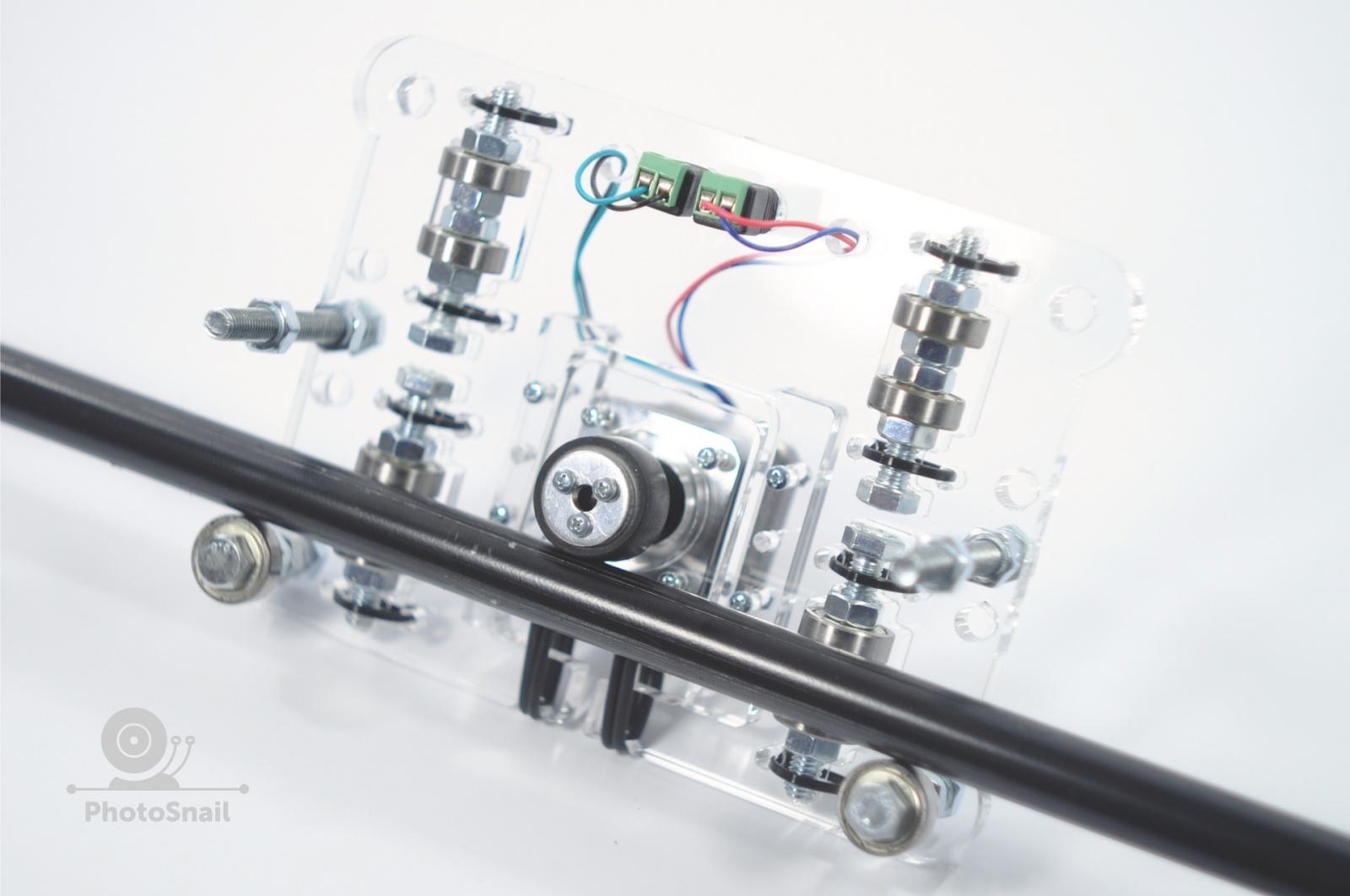 DIY моторизированный слайдер для съемки TimeLapse и видео - 10