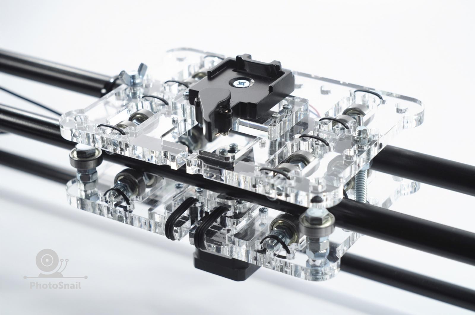 DIY моторизированный слайдер для съемки TimeLapse и видео - 12